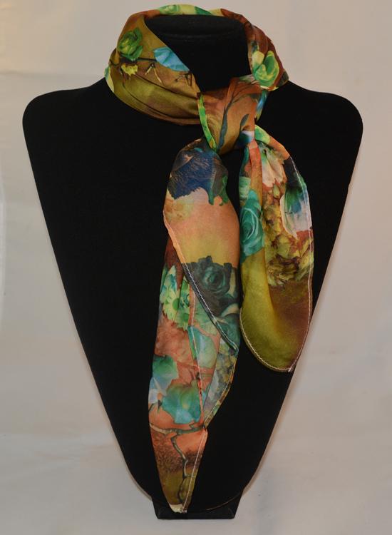 khăn lụa vuông kl531