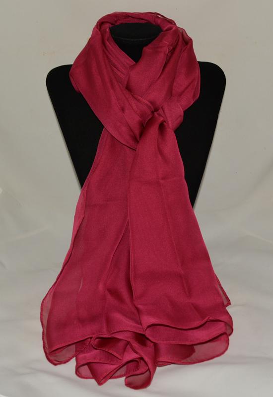 khăn lụa voan kl320