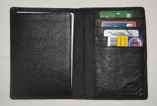 ví đựng hộ chiếu da thật