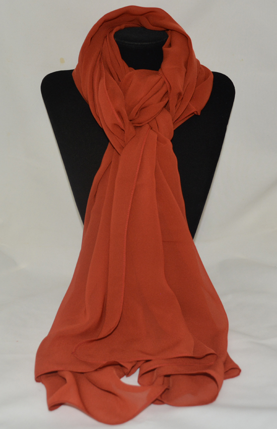 khăn lụa chiffon Nhật