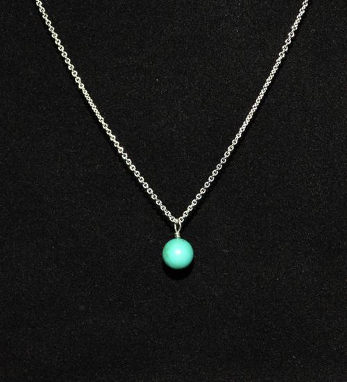 Dây chuyền mặt đá turquoise