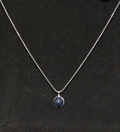 dây chuyền mặt đá sapphire