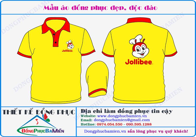 Đồng phục công ty Jollibee