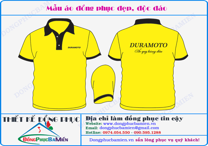 đồng phục duramoto