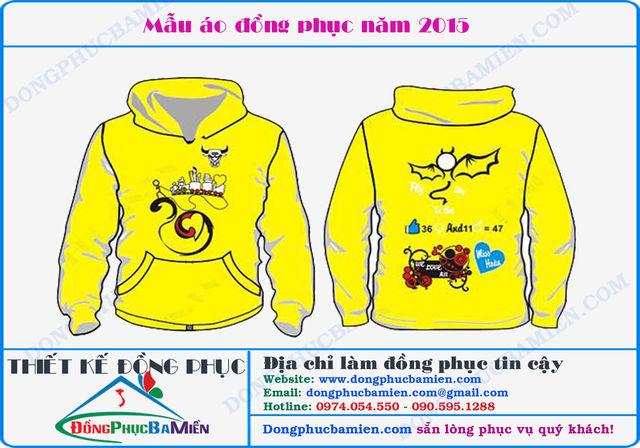 Đồng phục mùa đông màu vàng