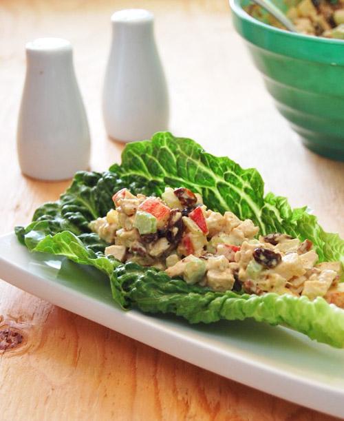 Món ăn ngon salad thịt gà