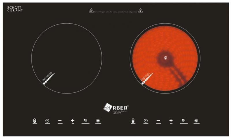 Bếp hỗn hợp điện từ AB-377
