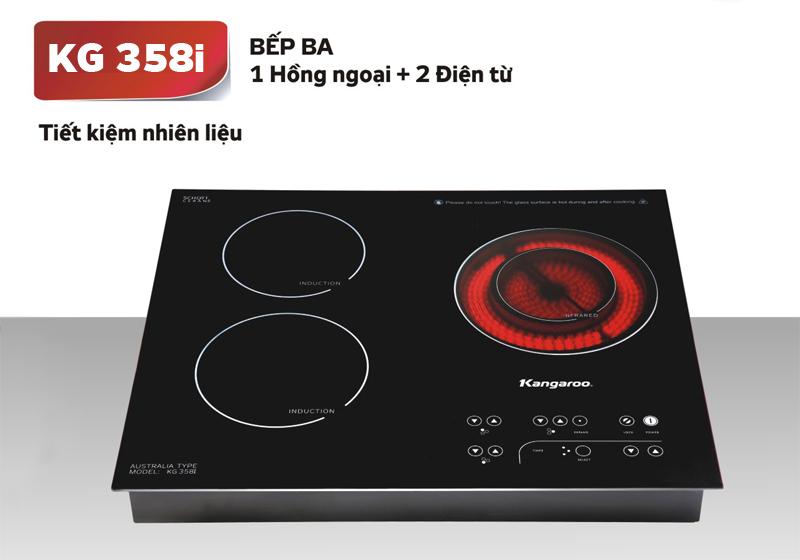 Bếp điện từ hồng ngoại kangaroo kg358i