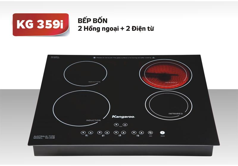Bếp điện từ hồng ngoại kangaroo KG359i