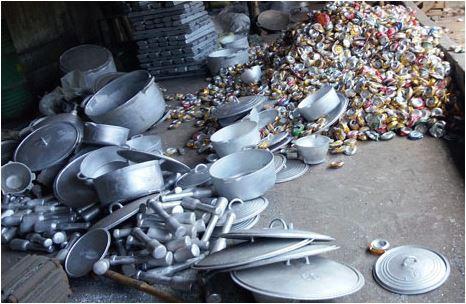 Nguy hiểm không ngờ từ đồ dùng nhôm tái chế 1