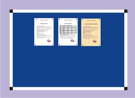 Bảng nhung - bảng văn phòng giá rẻ nhất TPHCM