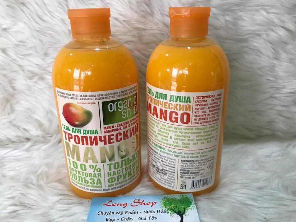 sua tam huong xoai organic shop 500ml