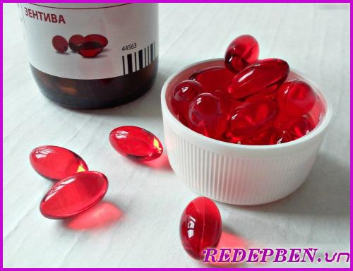 Vitamin e zentiva - thần dược cho phụ nữ
