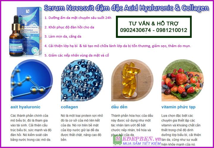 serum novosvit redepben