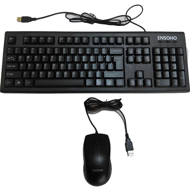 Bộ phím chuột dùng văn phòng có dây