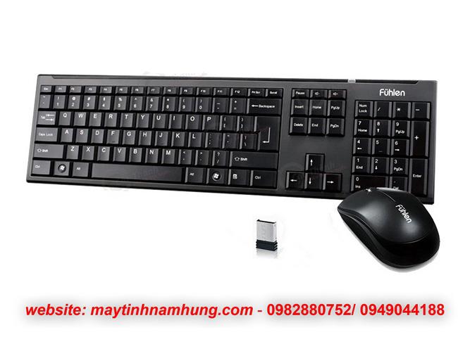 Bộ phím chuột không dây dùng cho văn phòng Fuhlen A120G