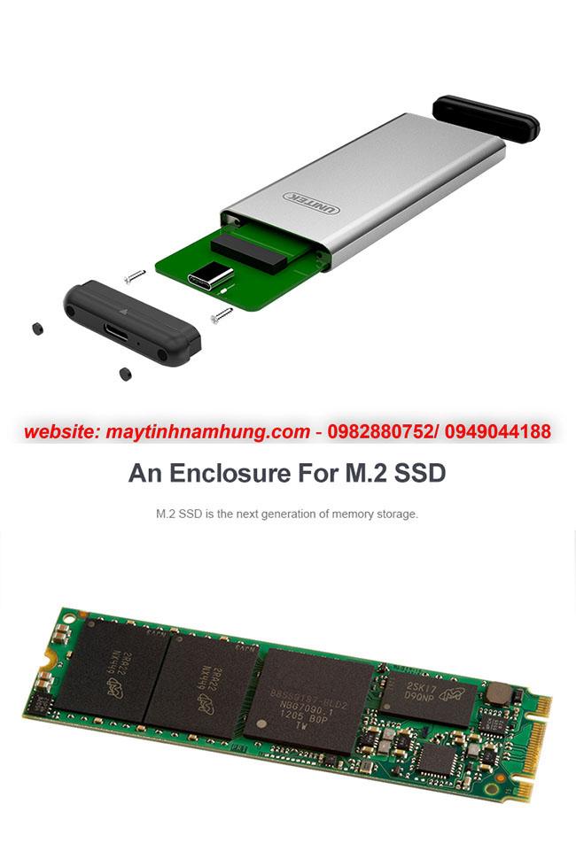 Box chuyển ổ cứng SSD M2 thành ổ cứng di động