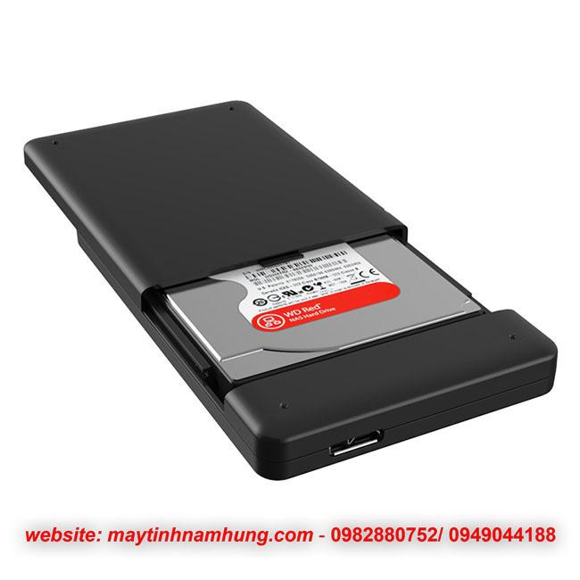 Box chuyển ổ cứng laptop thành ổ cứng di động Orico 2599US3
