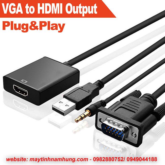 cáp chuyển VGA sang HDMI