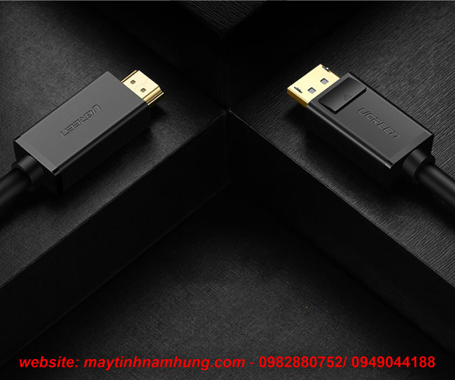 Cáp chuyển cổng Display Port to HDMI (DP to HDMI)