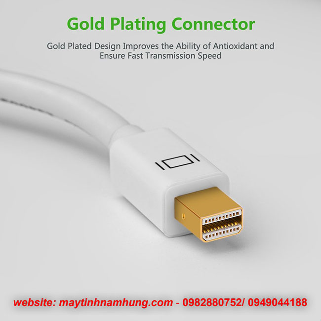Cáp chuyển từ Macbook Air ra máy chiếu Mini Displayport to HDMI và VGA