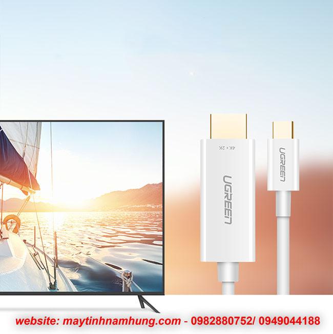 Cáp chuyển USB type C sang HDMI