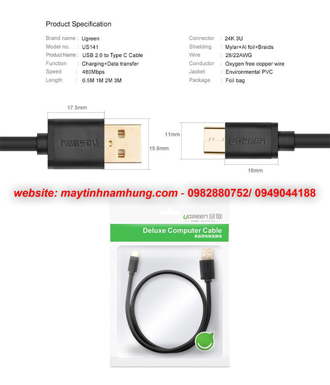 cap usb type c sac cho dien thoai samsung galaxy a5 a7 2017 Xiaomi 4C MX5 Pro
