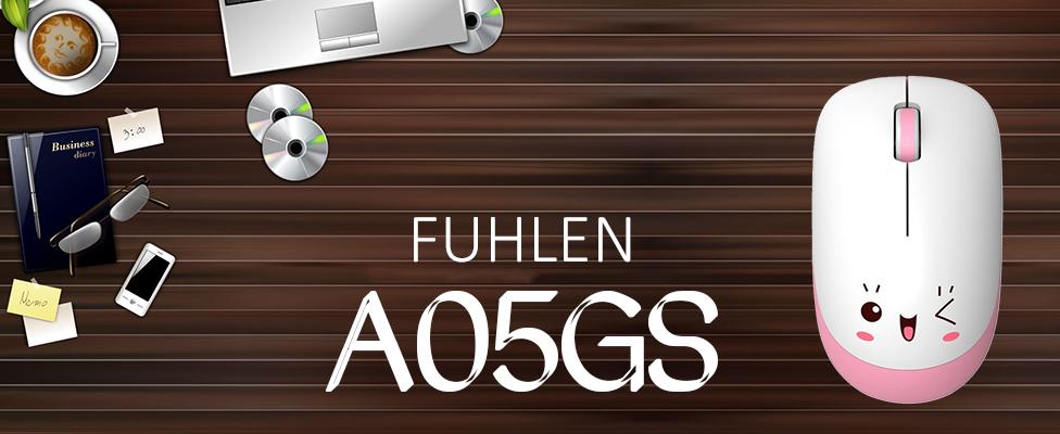 Chuột không dây Fuhlen A05GS dùng cho văn phòng