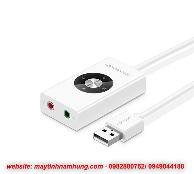 Cáp chuyển chân cắm tai nghe mic qua cổng USB