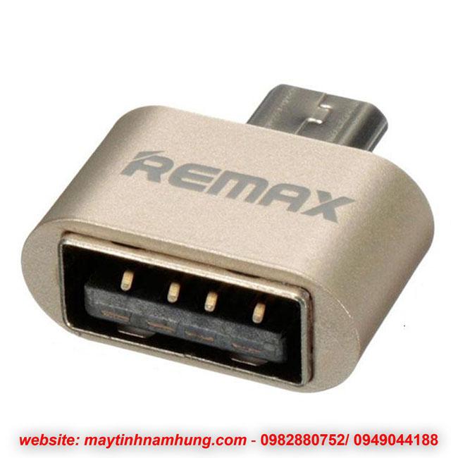 Đầu chuyển USB OTG kết nối điện thoại với bàn phím, tay game