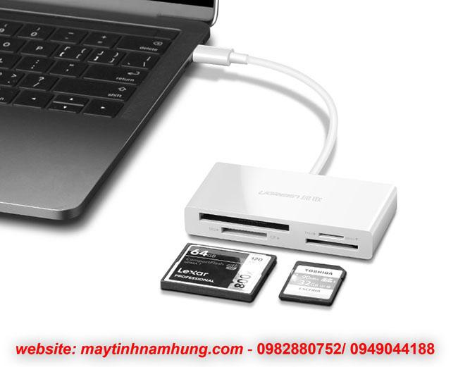 Đầu đọc thẻ đa năng cho Macbook 13, 15 touch bar