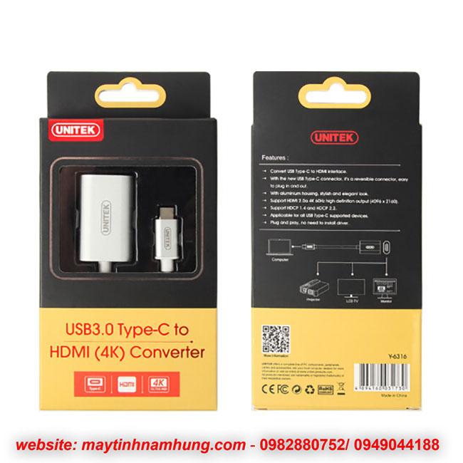Cáp kết nối cổng Macbook pro 15 touchbar ra tivi HDMI