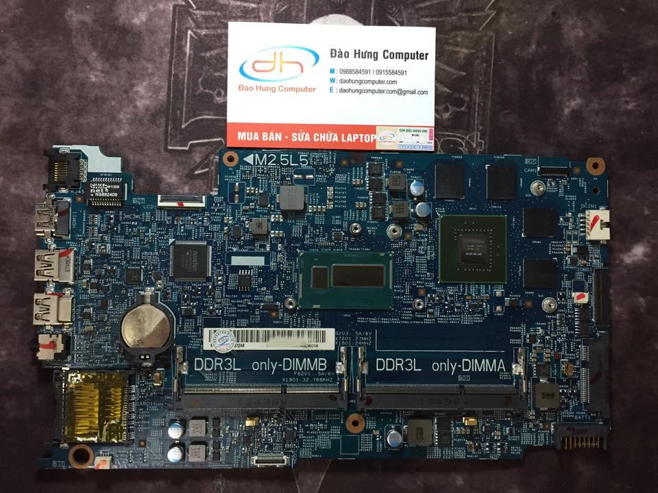 Mainboard Dell inspiron 15 7537 i7 vga rời
