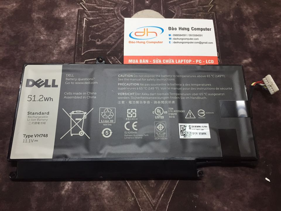 Pin laptop Dell Inspiron 5547