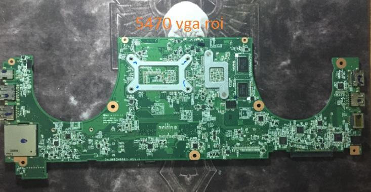 Mainboard Dell Vostro 5470 Mặt sau