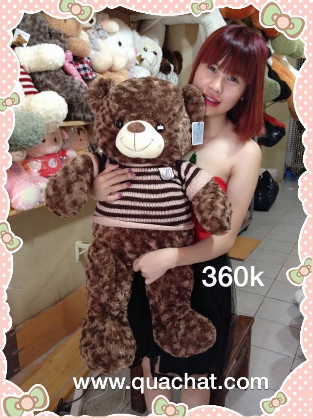Shop gấu bông HCM: gấu bông to giá rẻ,  Bán gấu bông teddy, gấu bông heo, bán thú nhồi bông