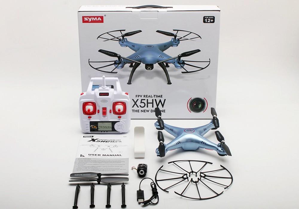 quadcopter syma x5hw dòng đĩa bay điều khiển từ xa
