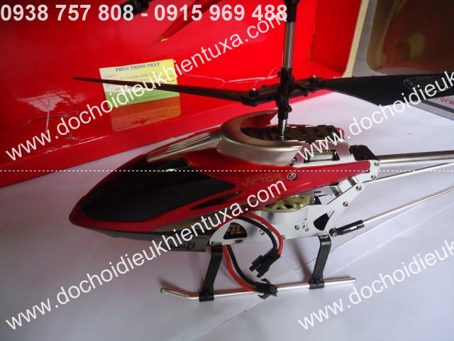 đầu máy bayy trực thăng điều khiển từ xa đỏ 22750