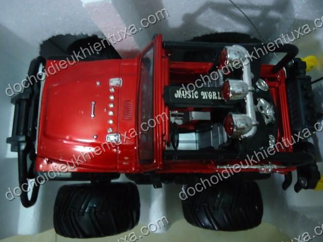 đồ chơi xe đua địa hình bánh lớn đèn nhạc dochoidieukhientuxa.com