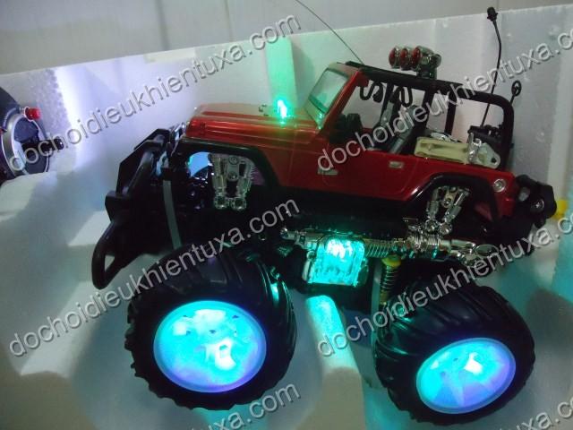 đèn bánh xe cực đẹp giá rẻ xe điều khiển dịa hinh