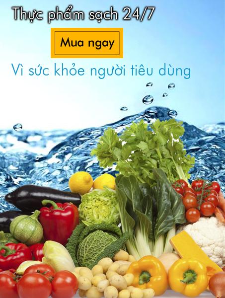 Hoa quả, thực phẩm sạch - Standardfood