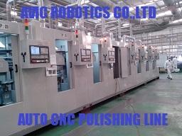 Dây chuyền mài đánh bóng CNC tự động hoàn toàn công suất 100 sản phẩm/h lắp cho doanh nghiệp Nhật tại VN