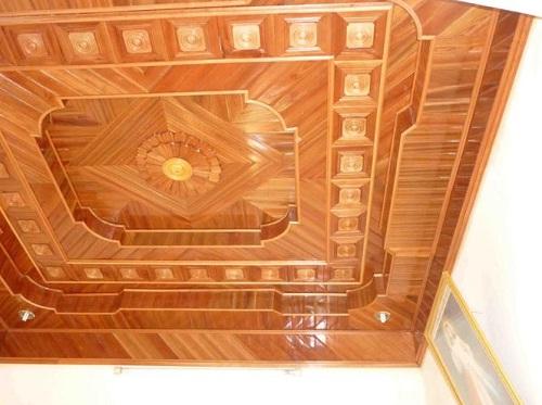 Sàn gỗ Phú Lâm – đơn vị thi công trần gỗ uy tín
