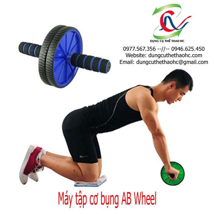Cách tập với máy tập cơ bụng AB Wheel
