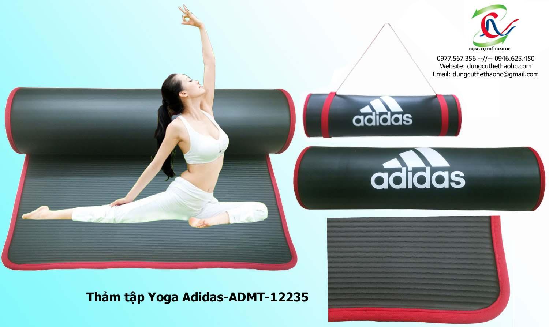 Bề mặt cuảtThảm tập yoga Adidas ADMT-12235
