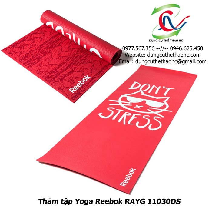 Thảm tập thể dục Reebok RAYG 11030DS
