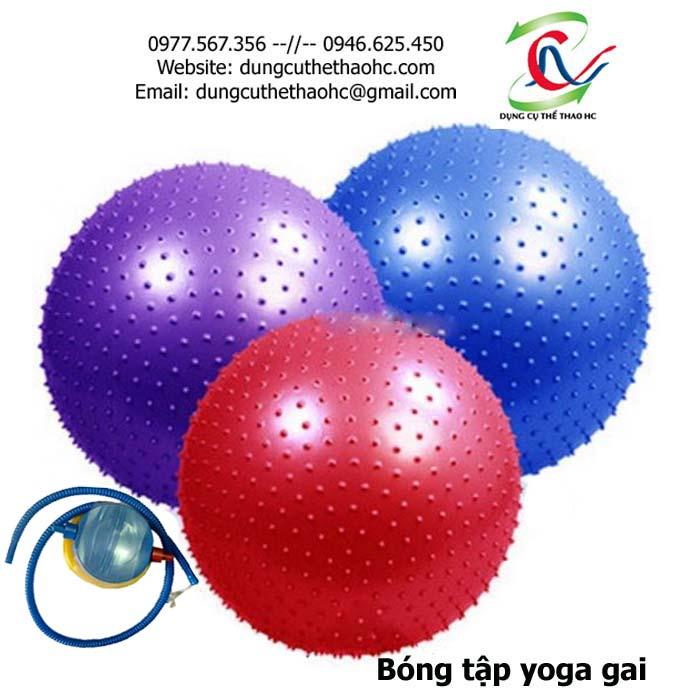 Bóng tập yoga gai 65cm