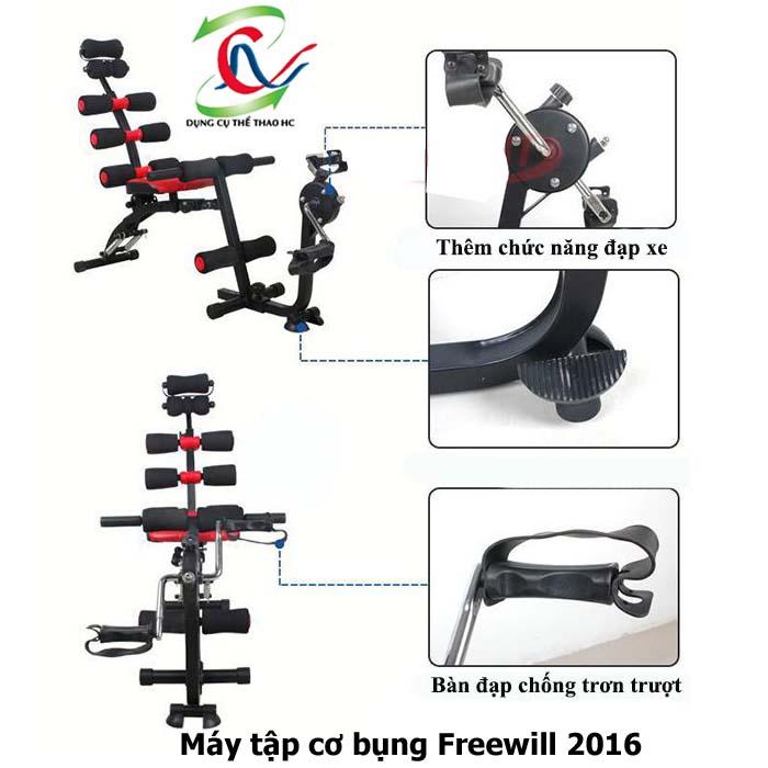 Ghế tập bụng Freewill 2016