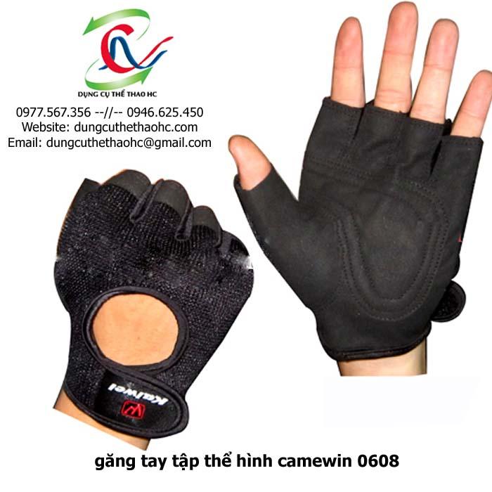 Găng tay tập thể hình camewin 0608