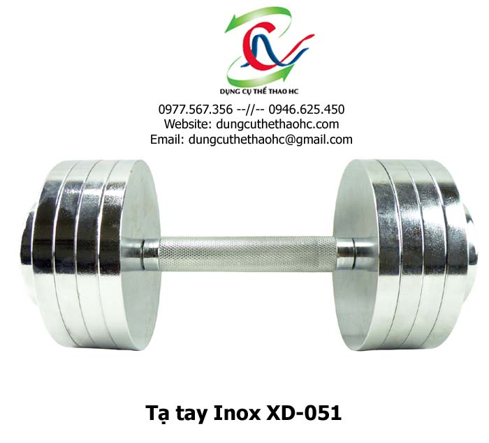 Tạ tay inox XD-051